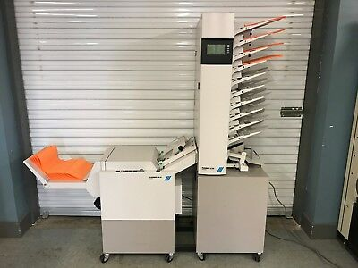 Plockmatic C510 Collator and BM61 Bookletmaker