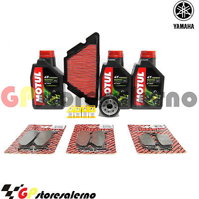 Kit Tagliando Completo 5000 10W40 Yamaha 600 Xj6 S Diversion 2015