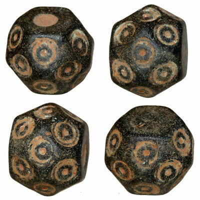 MUSEUM QUALITY BYZANTINE BRONZE POLYGONAL WEIGHT 28.86 grams