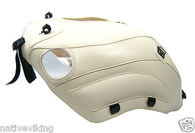 BMW R1200C Cruiser 1997 Tank Protector Cover CREME for 4 clip Tank bag 1363A