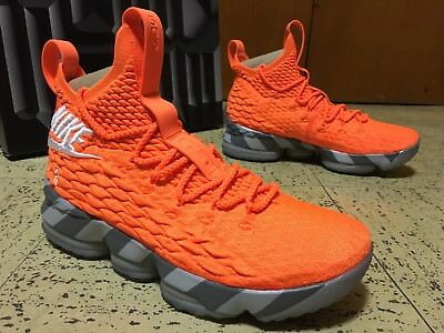 first rate 2c135 fdc4f Nike LeBron 15 XV KS2A Watch Orange Box Limited SNKRS Brand New DS Mens  size 8.5