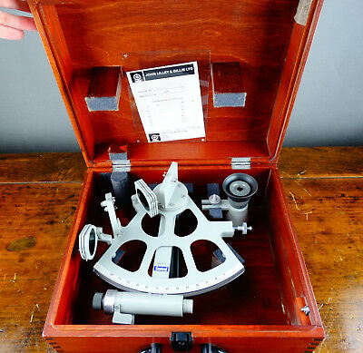 John Lilley and Gillie Sestrel Sextant Ships Boat Navigation Instrument Maritime