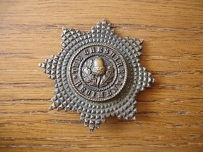WW2 Cheshire Regiment Officers Badge Bronze OSD Original With Blade Fixings