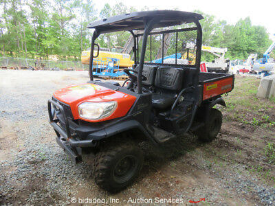 2014 Kubota RTV X900W 4WD All Terrain Off Road Dump Bed Diesel -Parts/Repair