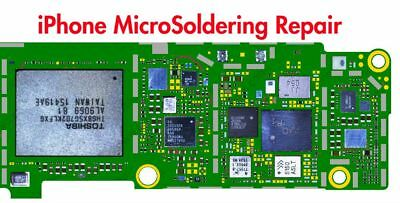 Iphone MICROSOLDERING SERVICE REPAIR 6/6S/6SP/6P/7/7+ touch backlight charge u2