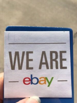 We Are eBay Sticker 100% For Charity