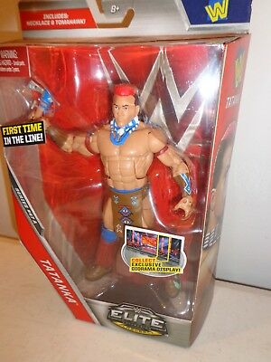 99Picclick Action Elite Tatanka Figure19 Collection Wwe TFl1cKJ