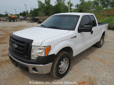 Ford F150  2012 Ford F150 4WD Pickup Truck V-8 5.0L Extended Cab 4 Door A/C bidadoo