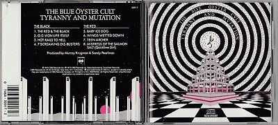 Blue Oyster Cult - Tyranny and Mutation(CD, Columbia) CK 32017 DADC EARLY PRESS