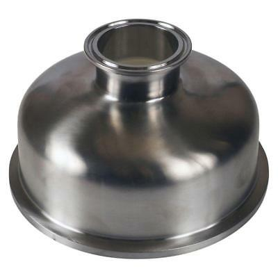 Bowl Reducer | Tri Clamp/Clover 6 inch x 2 - Sanitary SS304 (3 Pack)