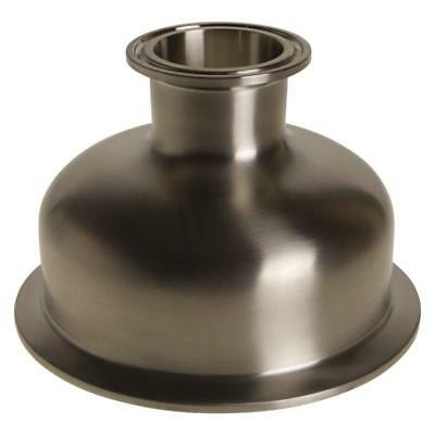 Bowl Reducer | Tri Clamp/Clover 4 inch x 1.5 (1 1/2) - Sanitary SS304 (3 Pack)