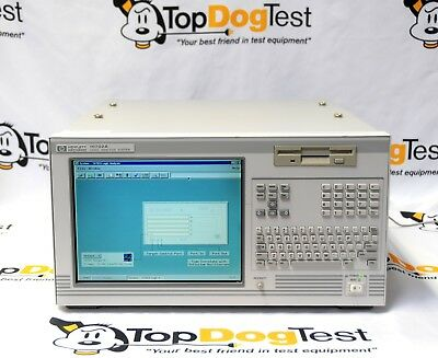 "Hp Agilent Keysight 16702A Logic Analyzer & 16555D  ""  CALIBRATED  """