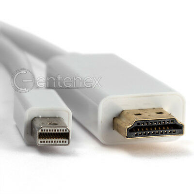 6FT Thunderbolt Mini DisplayPort to HDMI Cable Adapter for MacBook Pro Air iMac