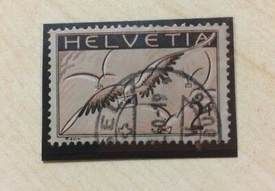 Switzerland 1930 Air Mail 2F Used VFU Used Stamp