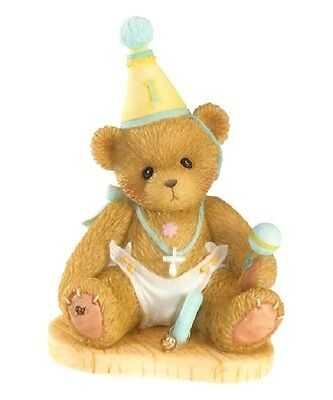 "Cherished Teddies ""onederful To Be One!"" Birthday Age 1 4020572 *  Free Shipping"