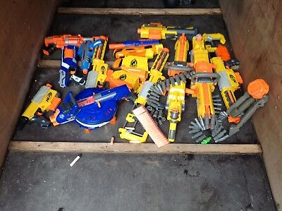 Massive Collection Of Nerf Guns Joblot Bundle Havok Etc
