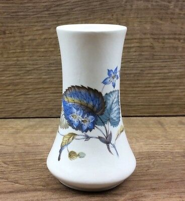 Axe Vale Pottery Devon Small Floral Vase - 110mm Tall