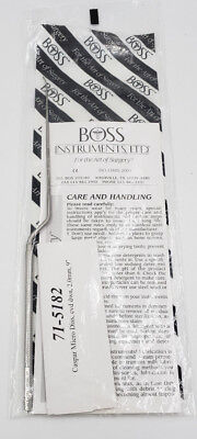 "Boss Neuro Caspar Micro Dissector, 71-5182, curved down, 2.0mm, 9""  NEW"
