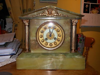 """reduced"" - Victorian Mantle Clock (636)"