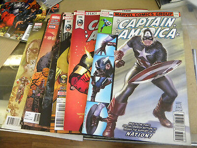 Marvel 2018 7 recent issues CAPTAIN AMERICA #695 to #703 reg $30 qq #700