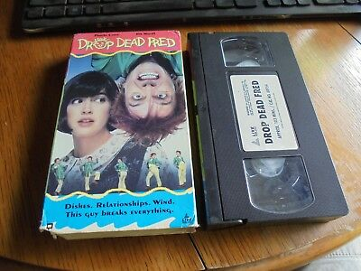 Drop Dead Fred (VHS, 1991) Used Phoebe Cates, Rik Mayall