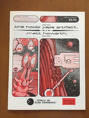 The Hobi Yaps Artifact, Matt Howarth 1983 Howski Studios - Magazine HG! Rare!!