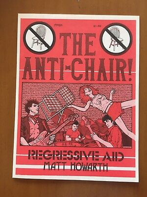 The Anti-Chair, Matt Howarth 1984 - Magazine HG! Rare!!