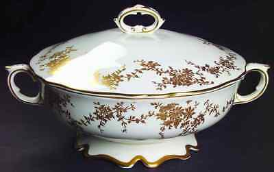 Crown Staffordshire ARISTOCRAT Round Covered Vegetable Bowl 2356819