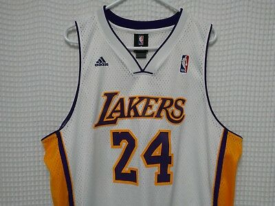 size 40 99b8c 50e14 KOBE BRYANT JERSEY LA Lakers adidas Swingman NBA basketball XL +2 Los  Angeles 24