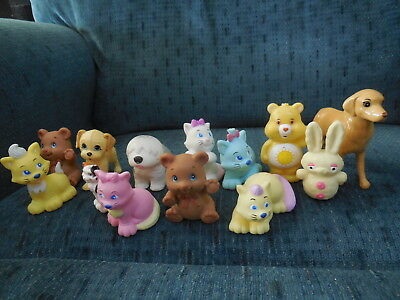 "13 Cats, Care Bear, Golden Retriever, Sheep Dog, Rabbit, Teddy Bears 2"" - 3"""