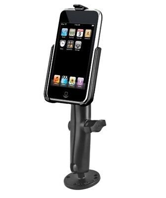 Flat Surface Long Arm Dashboard Mount fits Apple iPod touch 2nd & 3rd Generation