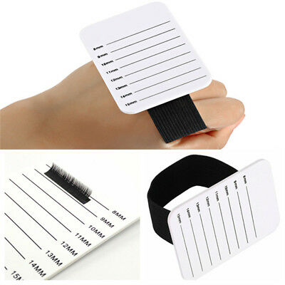 Individual Eyelash Extension Hand Plate Holder Lash Tray Strip Palette 2018 NEW