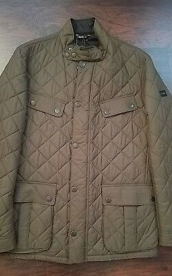 Barbour International Ariel Profile mens quilted jacket Large L