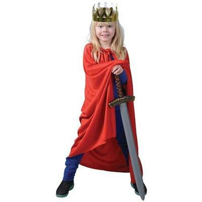 "Red Super Hero Cape 36"" Long"