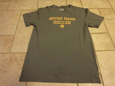 b50834b05 UNDER ARMOUR NOTRE Dame Fighting Irish College Soccer Team Issued Shirt  Small -  6.00