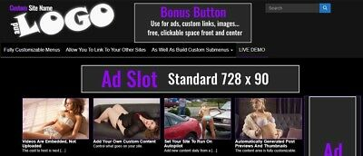 Adult Tube Website - US Seller - Google Compliant - See Why We're Different