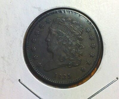 1835 Classic Head Half Cent. Really Great Condition. Not Just Scrap Copper