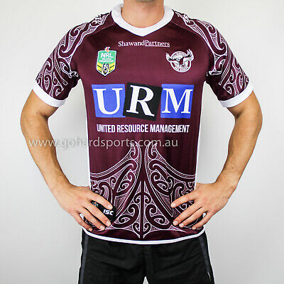 Manly Sea Eagles 2018 NRL Mens Maori Jersey (Sizes S - 7XL) *BNWT* ON SALE NOW!