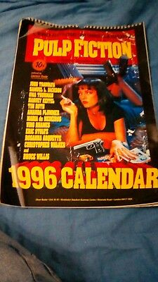 Pulp Fiction 1996 calendar