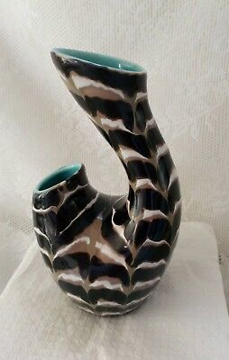 Very Rare Vintage Colin Melbourne Beswick Two Horned Vase 1371 in excellent cond