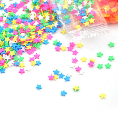 10gPolymer Clay Fake Candy Sweets Simulation Creamy Sprinkles Phone ShellDecorBL