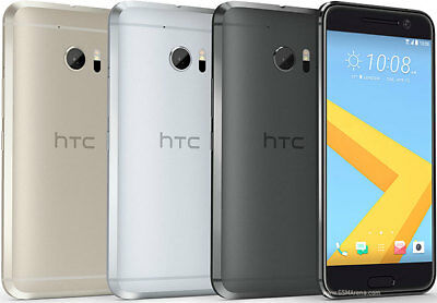"""HTC 10 M10 32GB Unlocked 4GB RAM Android  4G LTE 12MP Smartphone 5.2"""" 4 Colors"""
