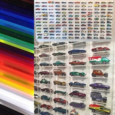 Hot Wheels Matchbox 1:64 Display Case 72 car wall mount. ONE ONLY IN STOCK