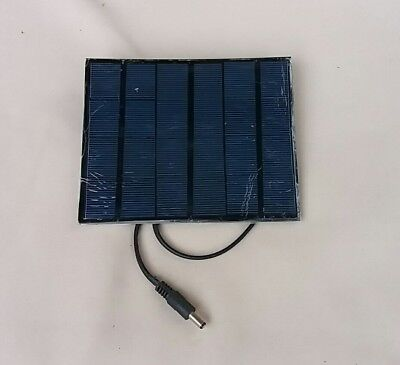 3W Bait Boat Solar Panel Charger,dc Plug Connector, For 3.7V Baitboat