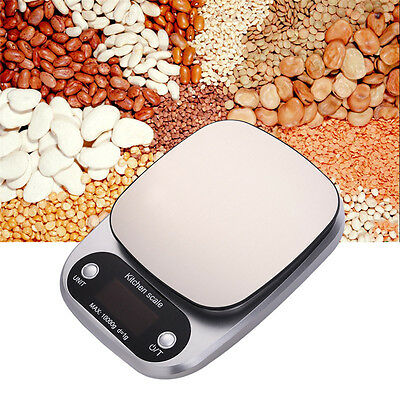 10kg/1g Household Digital Electronic Kitchen Scale Weight Balance Food Diet Scal