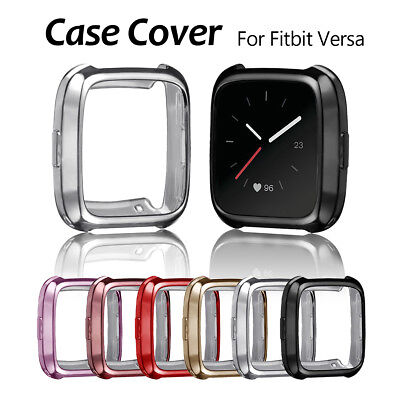 TPU Soft Shell Silicone Protective Frame Cover Case Protector For Fitbit Versa
