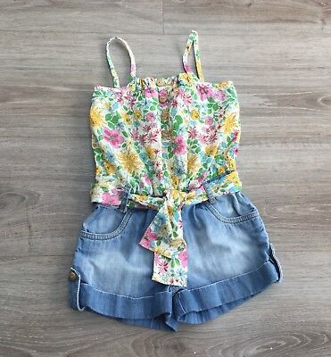 Girls Shorts Playsuit From Next. Age 3.Excellent Condition.