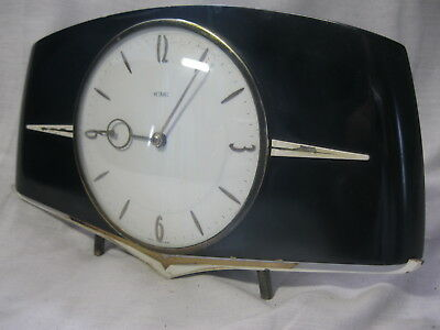 FAB Deco / Retro CLOCK from the 40's 50's's . Good working order
