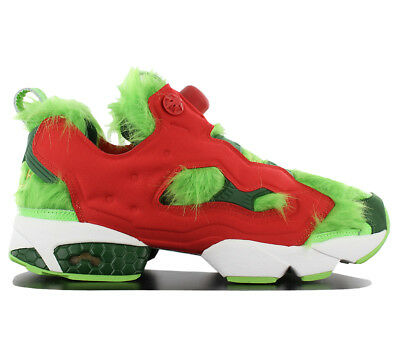 3ff40fec88f Reebok Instapump Fury Cv Grinch Shoes Trainers Classic Pump BD4758 Limited  New