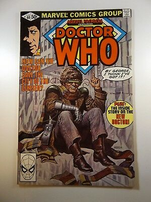 Marvel Premiere #60 W/ Dr.Who!! HTF Issue!! Sharp VG+ Condition!!
